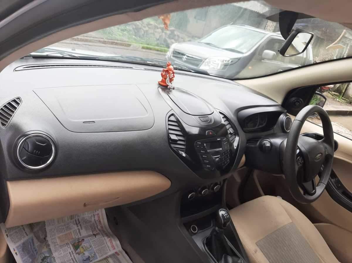 Ford Figo Aspire Rear Right Side Angle View