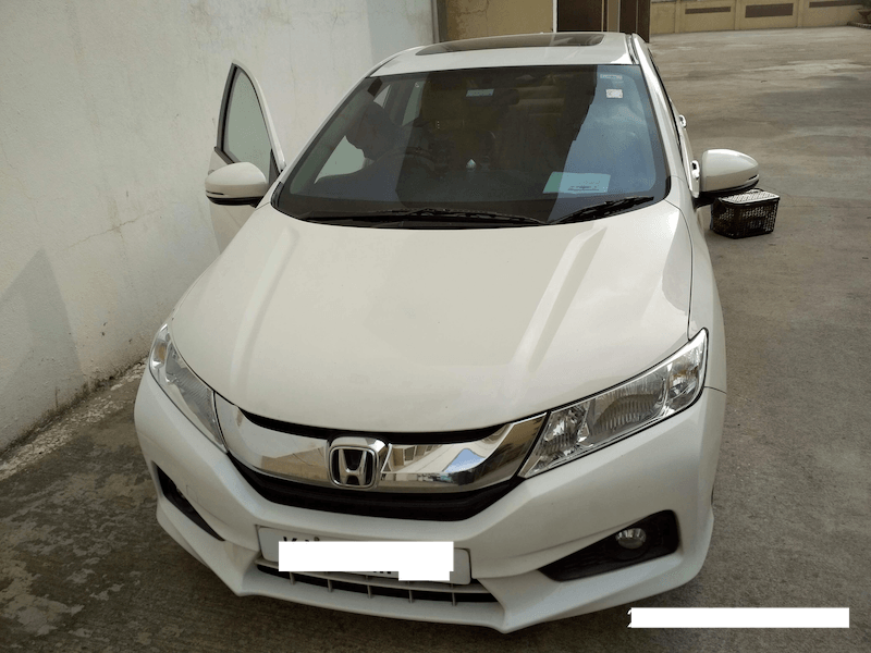 Honda City Front Left Rim