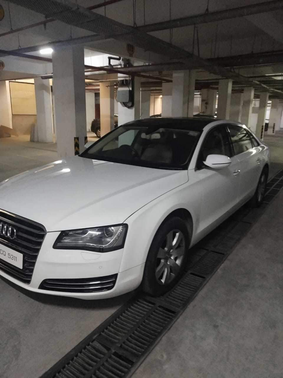 Audi A8 Left Side View