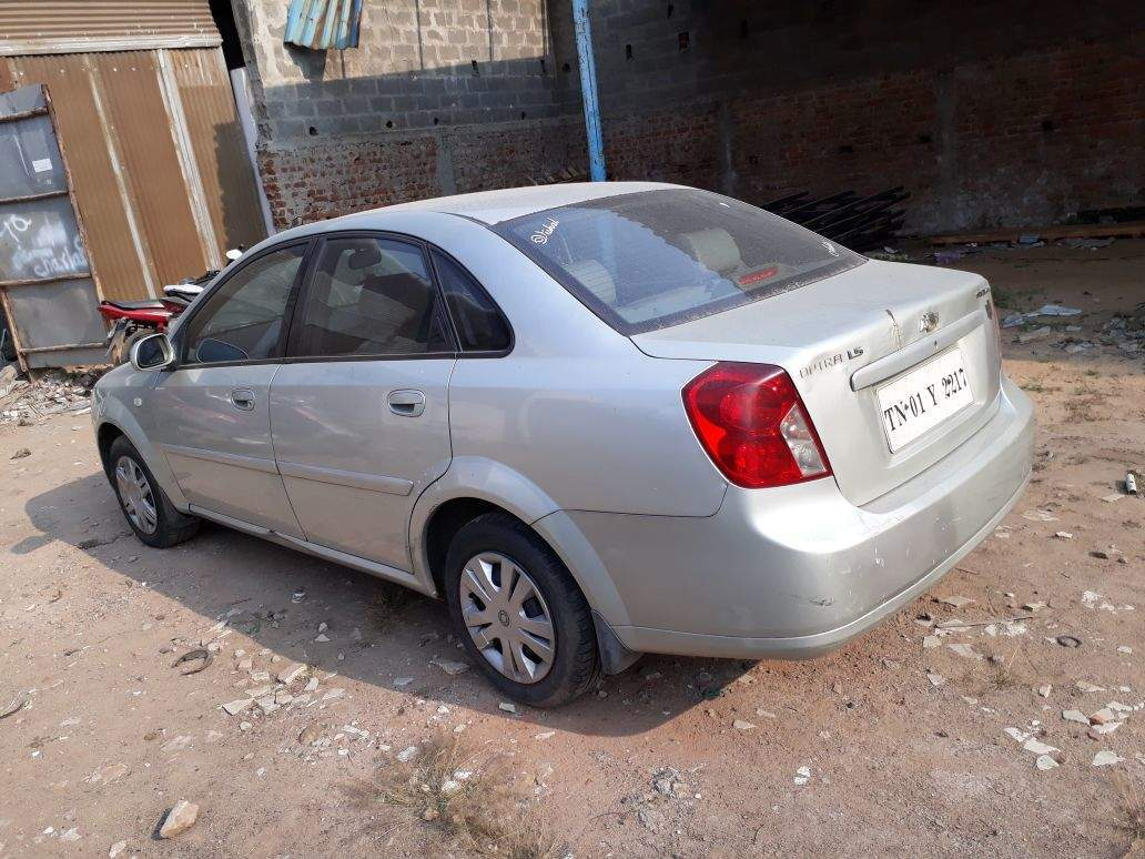 Chevrolet Optra Left Side View