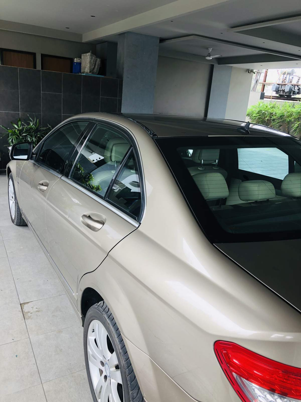 Mercedes Benz C Class Rear Left Rim