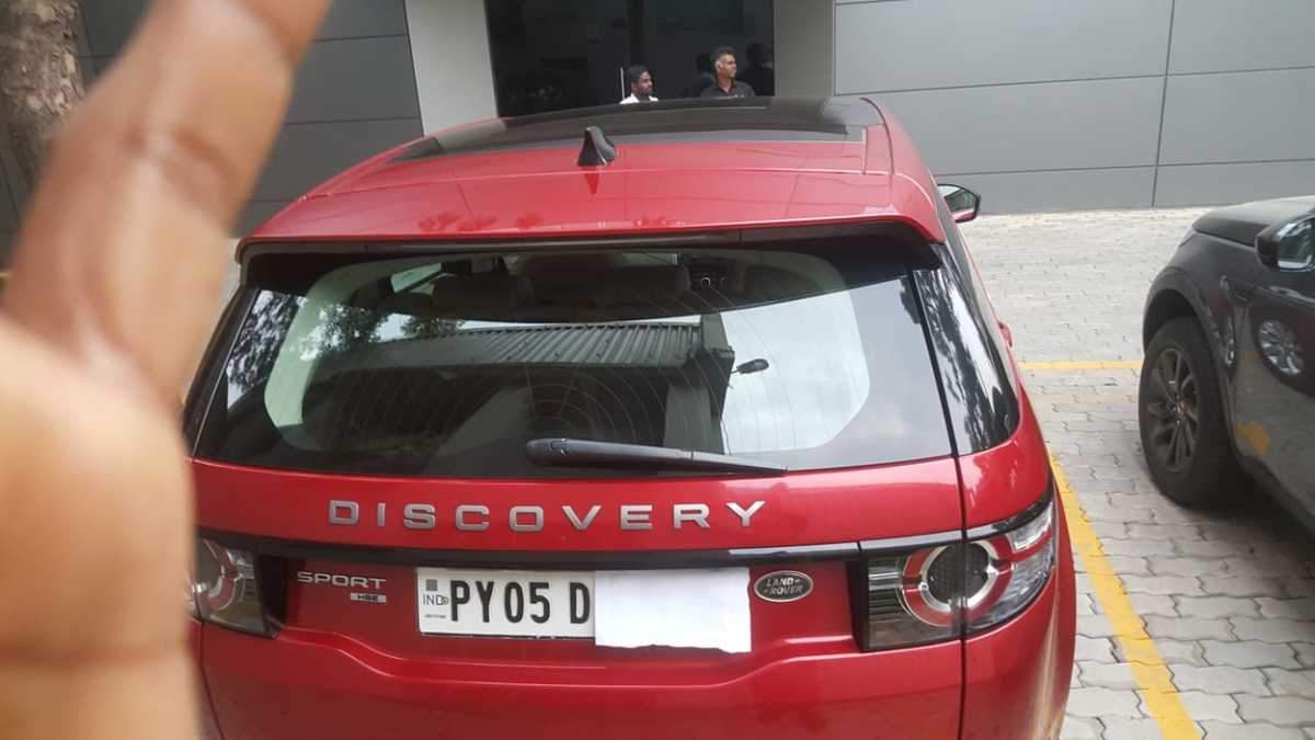 Land Rover Discovery Sport Rear Right Side Angle View