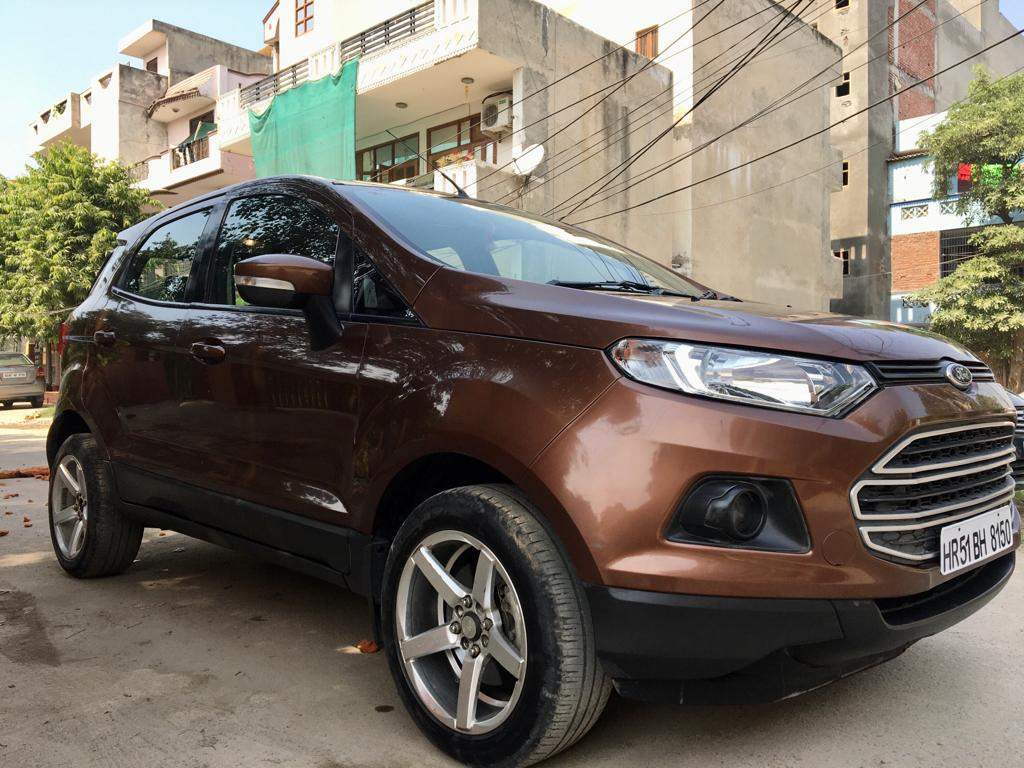 Ford Ecosport Left Side View