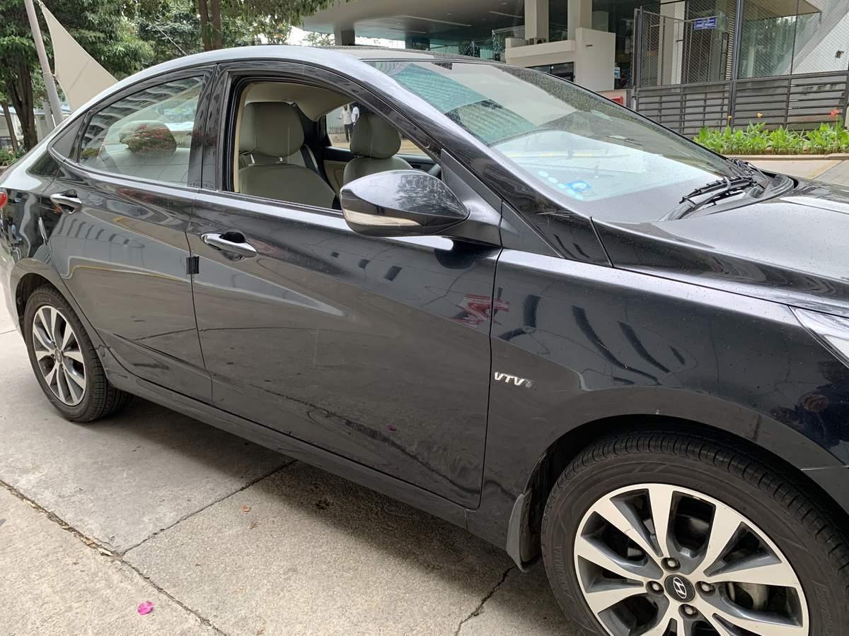 New Hyundai Verna Front Right Rim