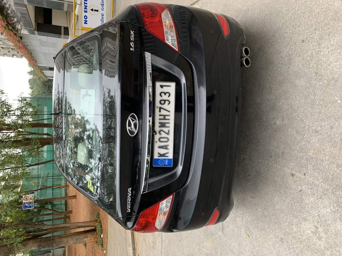 New Hyundai Verna Rear Left Rim