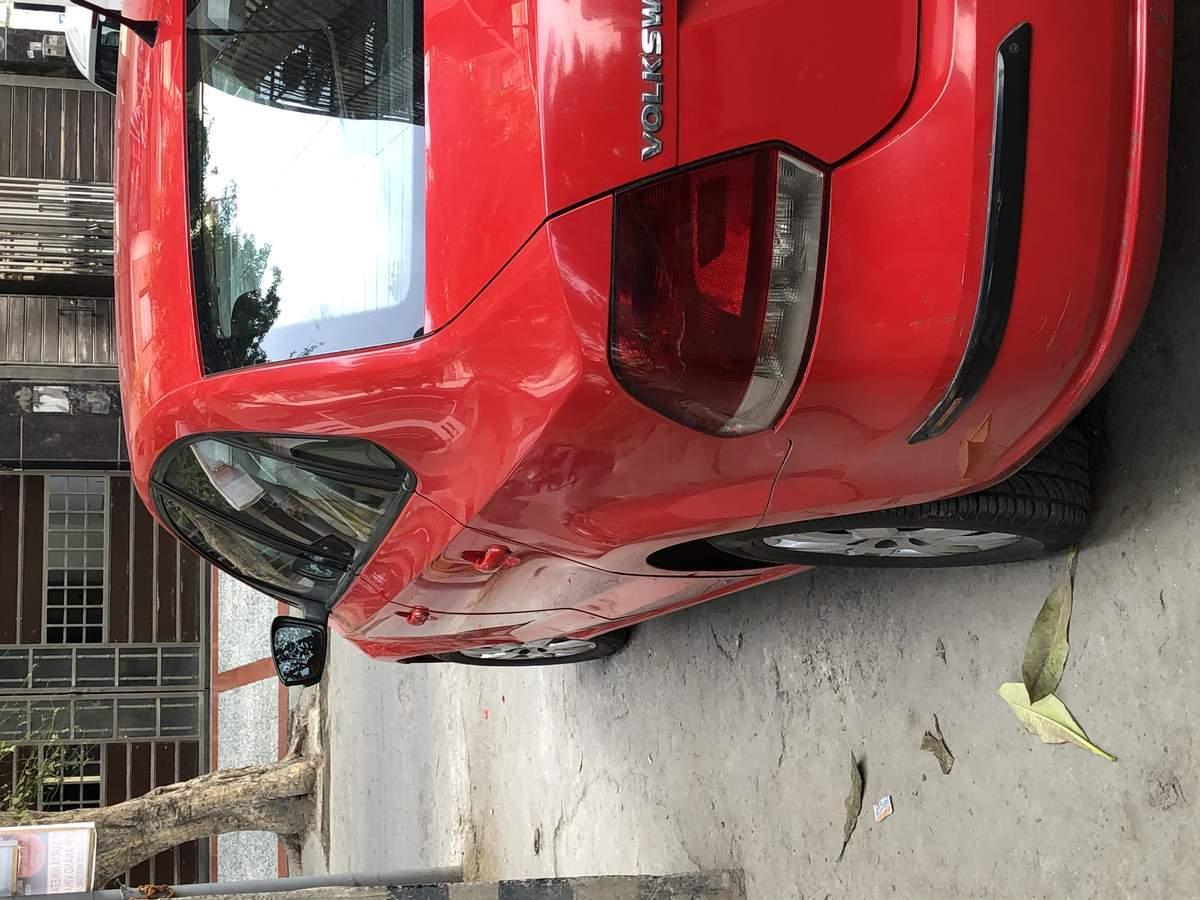 Volkswagen Vento Rear View