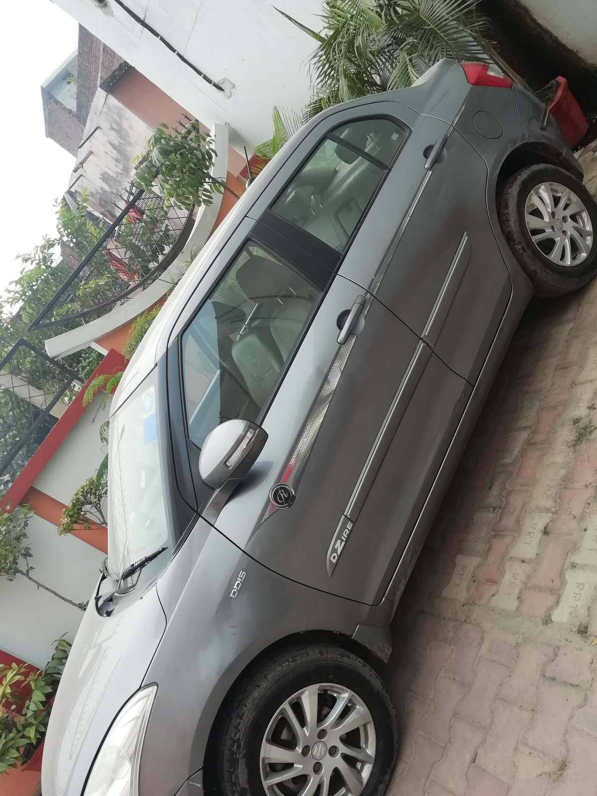 Maruti Suzuki Swift Dzire Rear Left Side Angle View