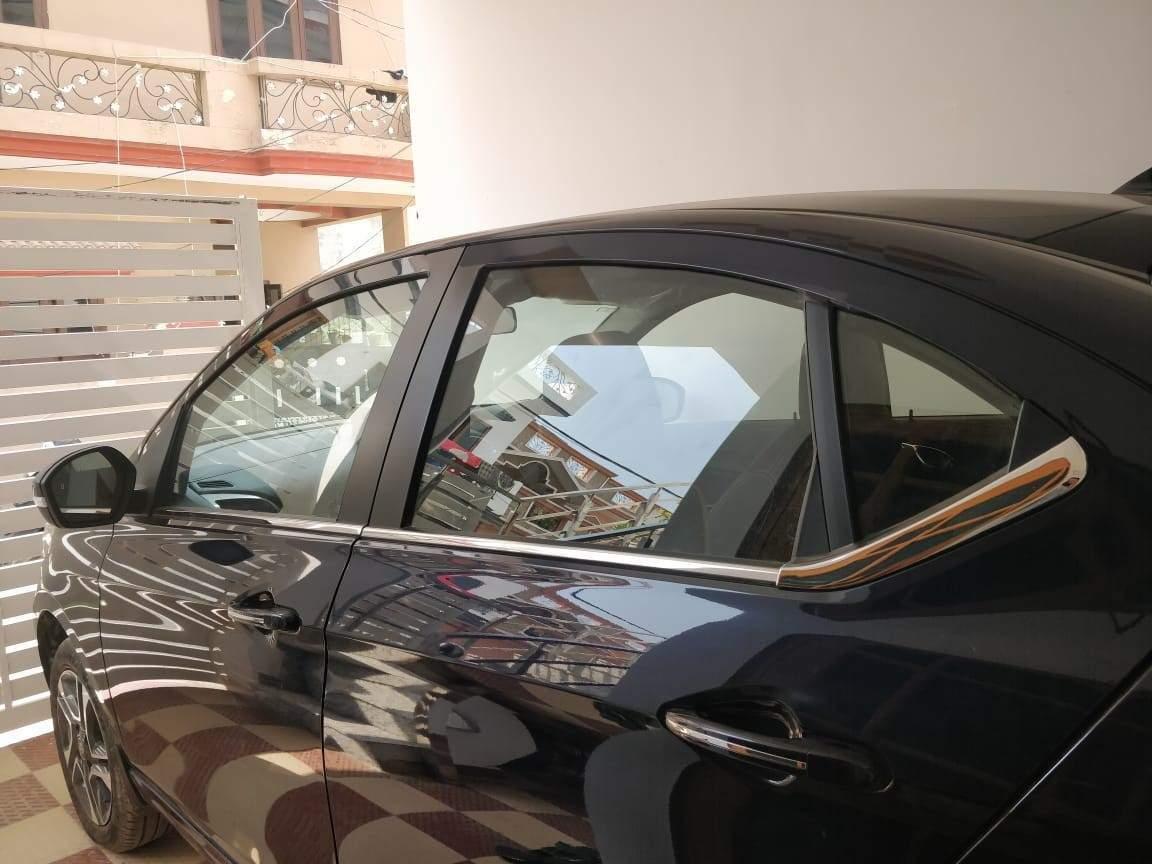 Tata Tigor Rear Left Side Angle View
