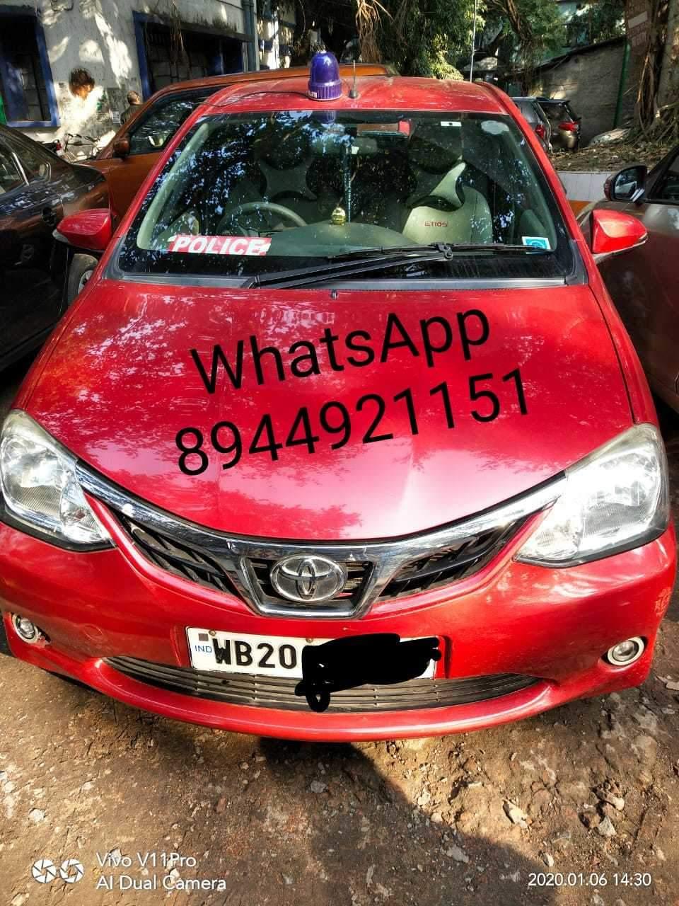 Toyota Etios Front Left Rim
