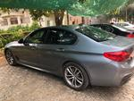 Bmw 5 Series Rear Right Side Angle View