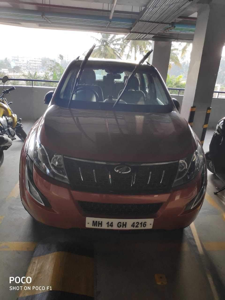 Mahindra Xuv500 Rear Left Side Angle View