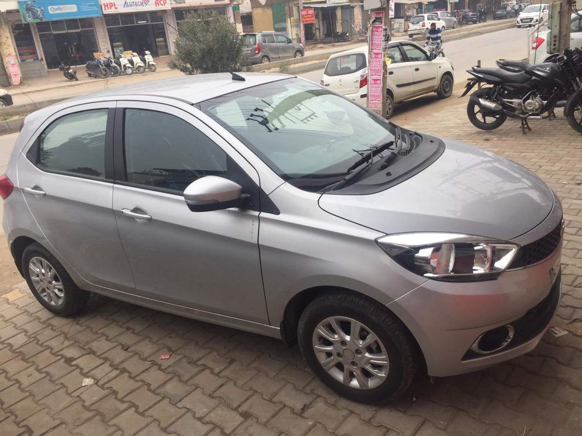 Tata Tiago Left Side View