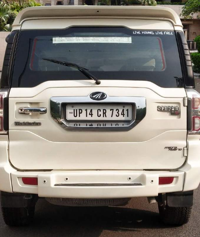 Mahindra Scorpio Rear Left Rim