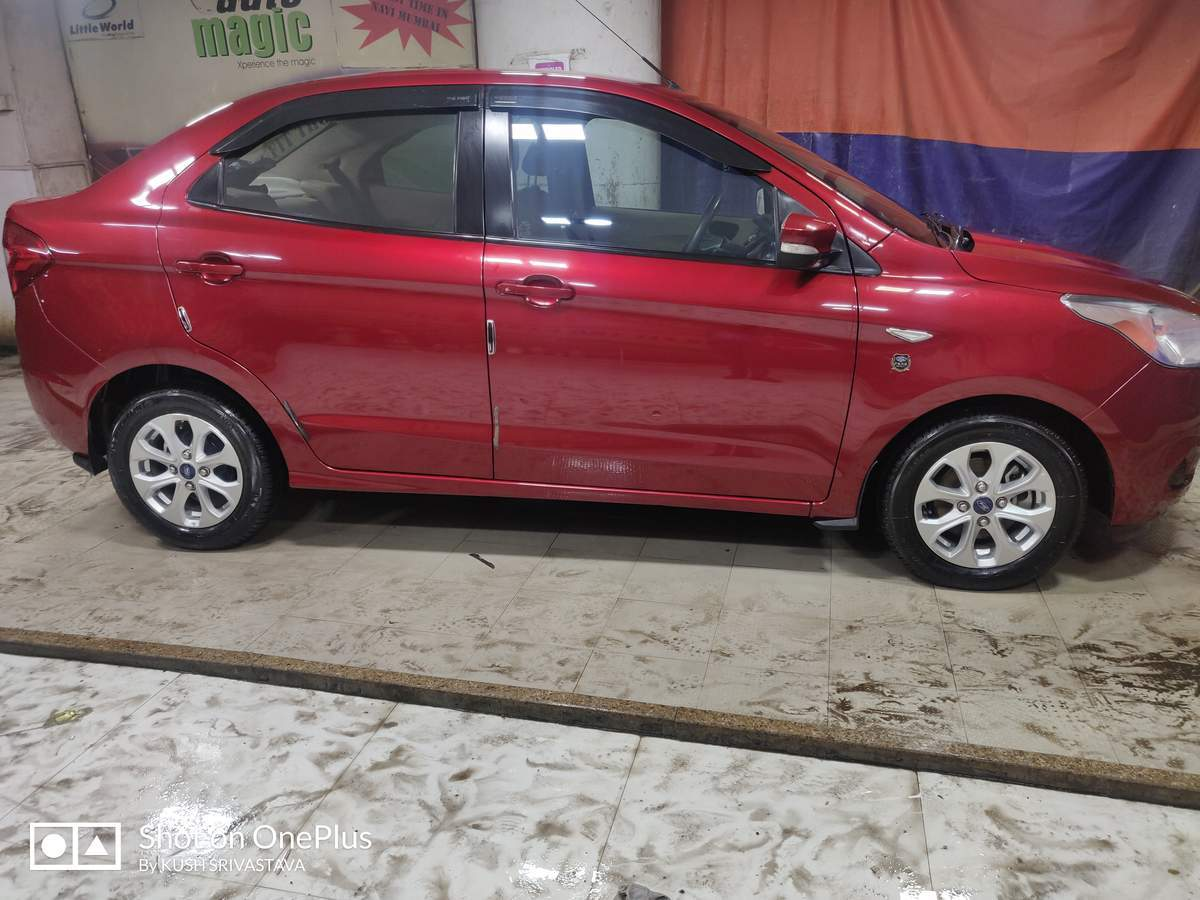 Ford Figo Aspire Left Side View