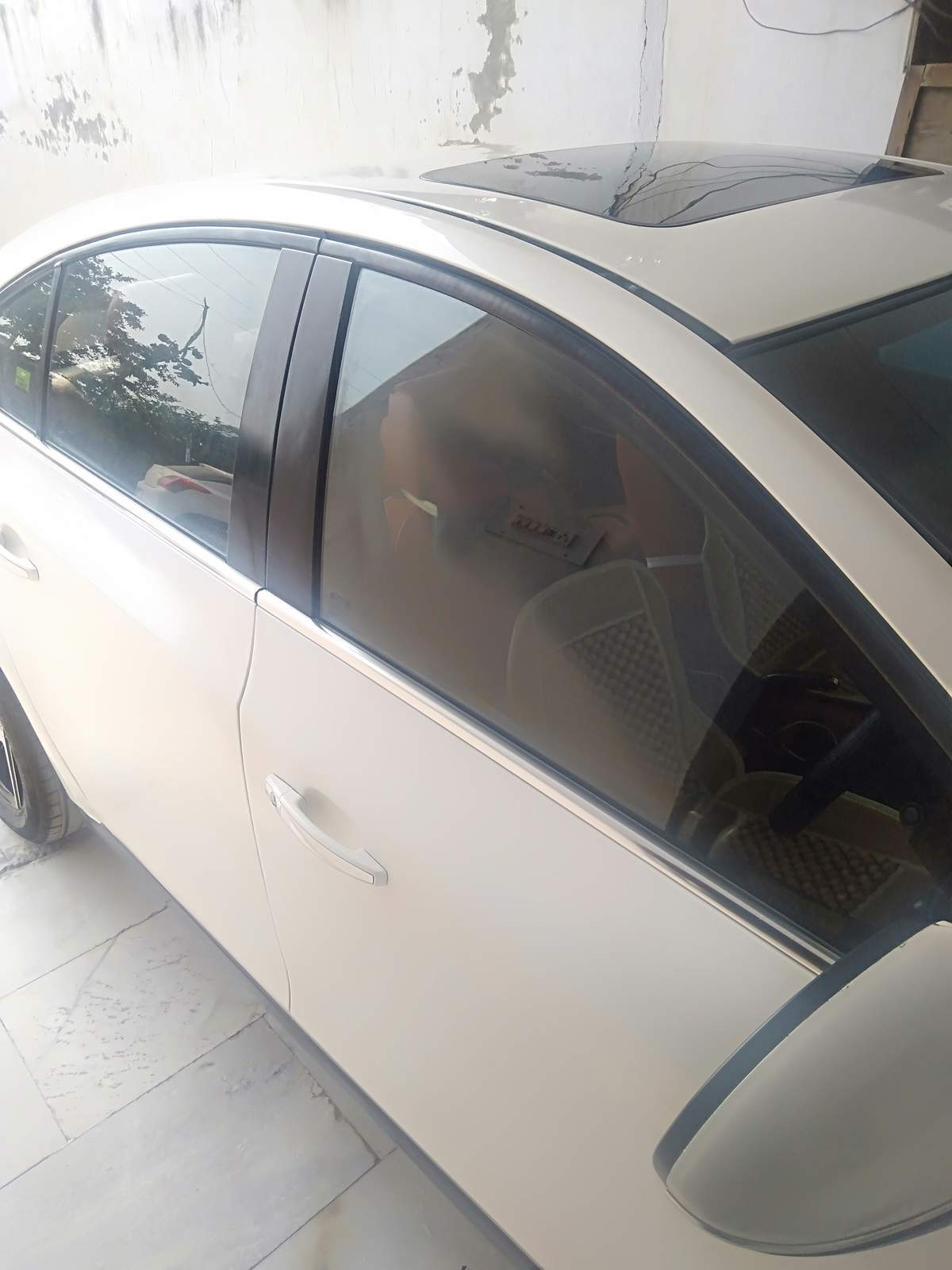 Chevrolet Cruze Front Left Rim