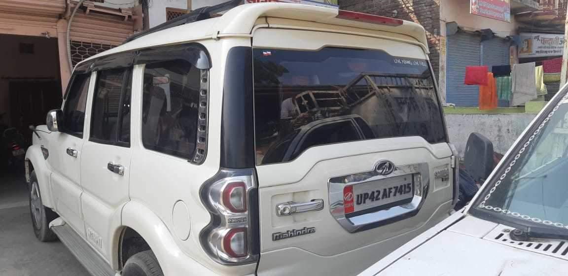 Mahindra Scorpio Rear Left Side Angle View