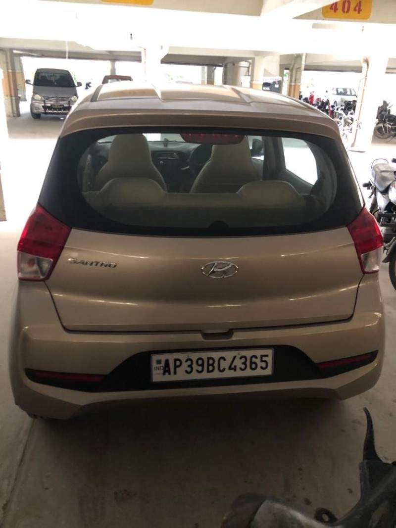 Hyundai New Santro Right Side View
