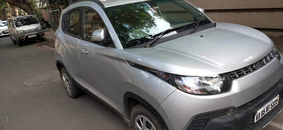 Mahindra Kuv100 Rear Left Rim