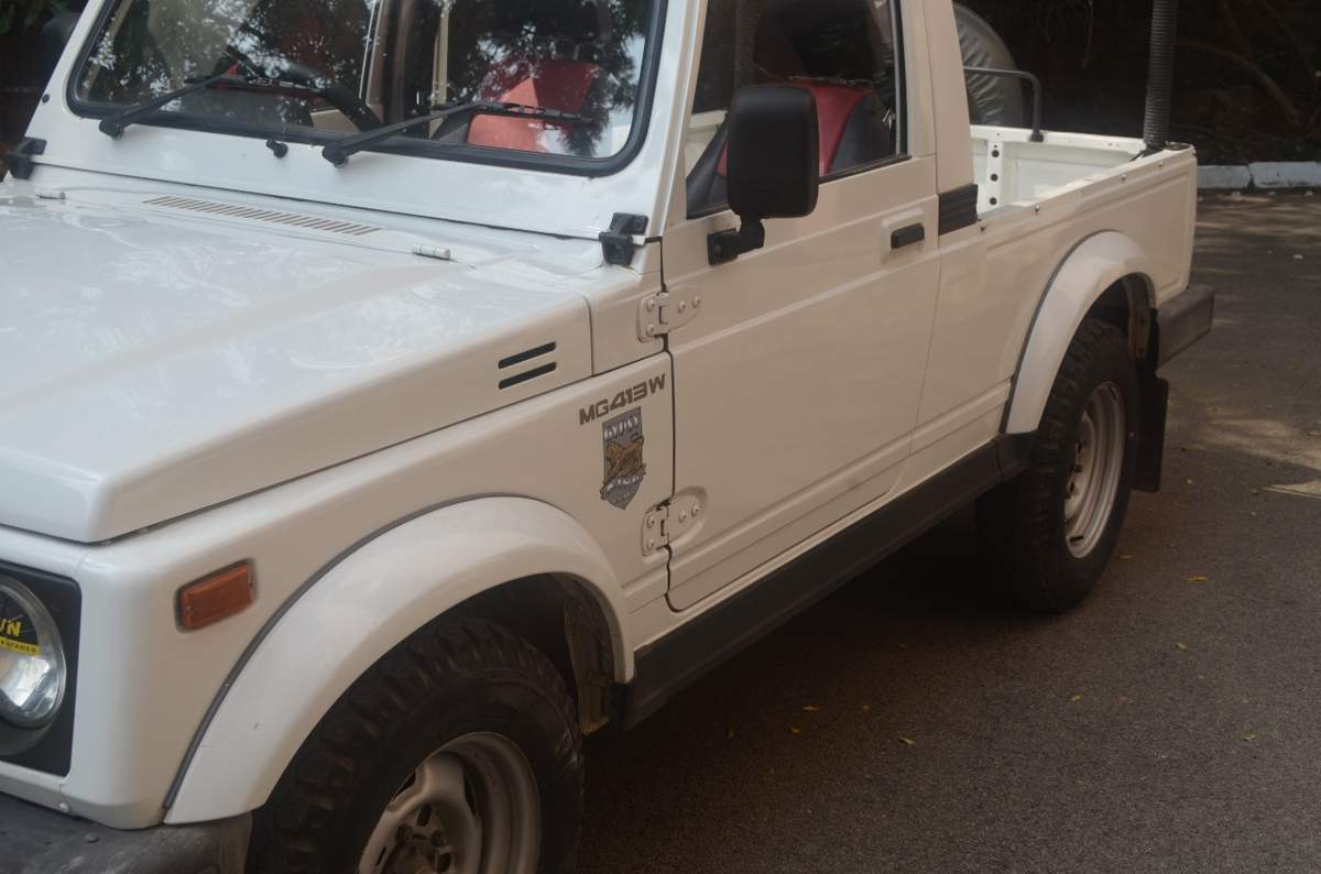 Maruti Suzuki Gypsy Rear Right Rim