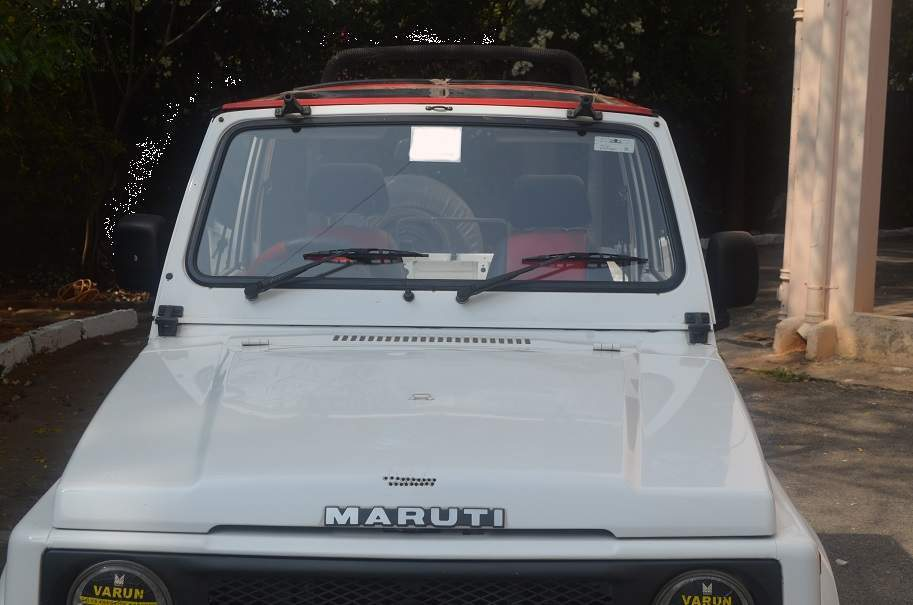 Maruti Suzuki Gypsy Rear View