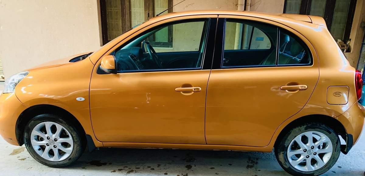 Nissan Micra Trunk Interior