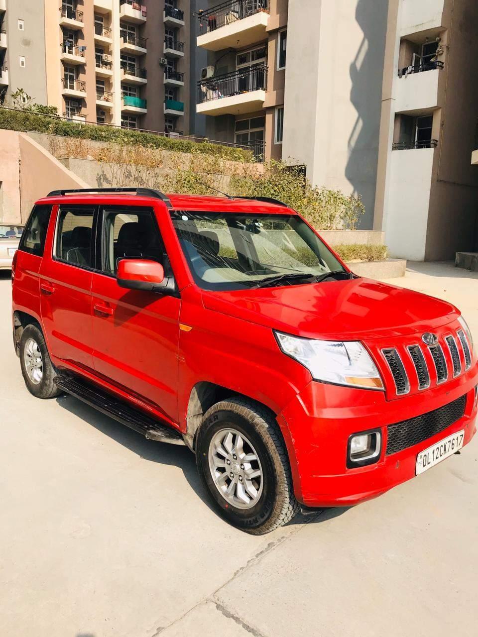 Mahindra Tuv300 Front Left Rim