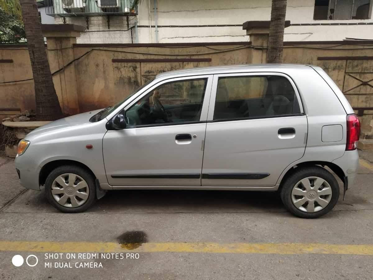 Maruti Suzuki Alto K10 Rear Right Side Angle View