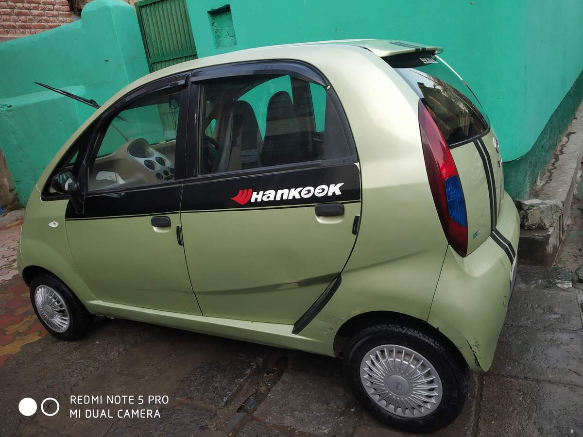 Tata Nano Rear Right Side Angle View