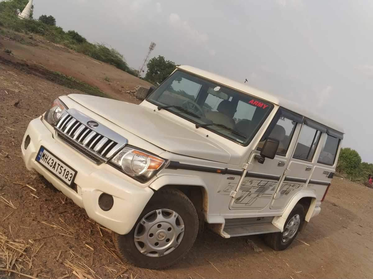 Mahindra Bolero Rear Left Side Angle View
