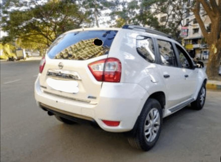 Nissan Terrano Rear Left Rim