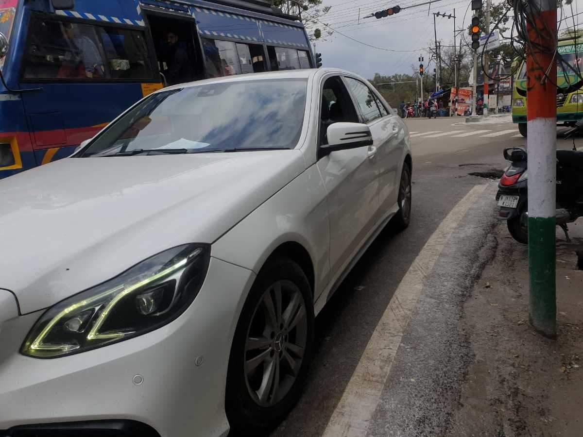 Mercedes Benz E Class Rear Left Rim