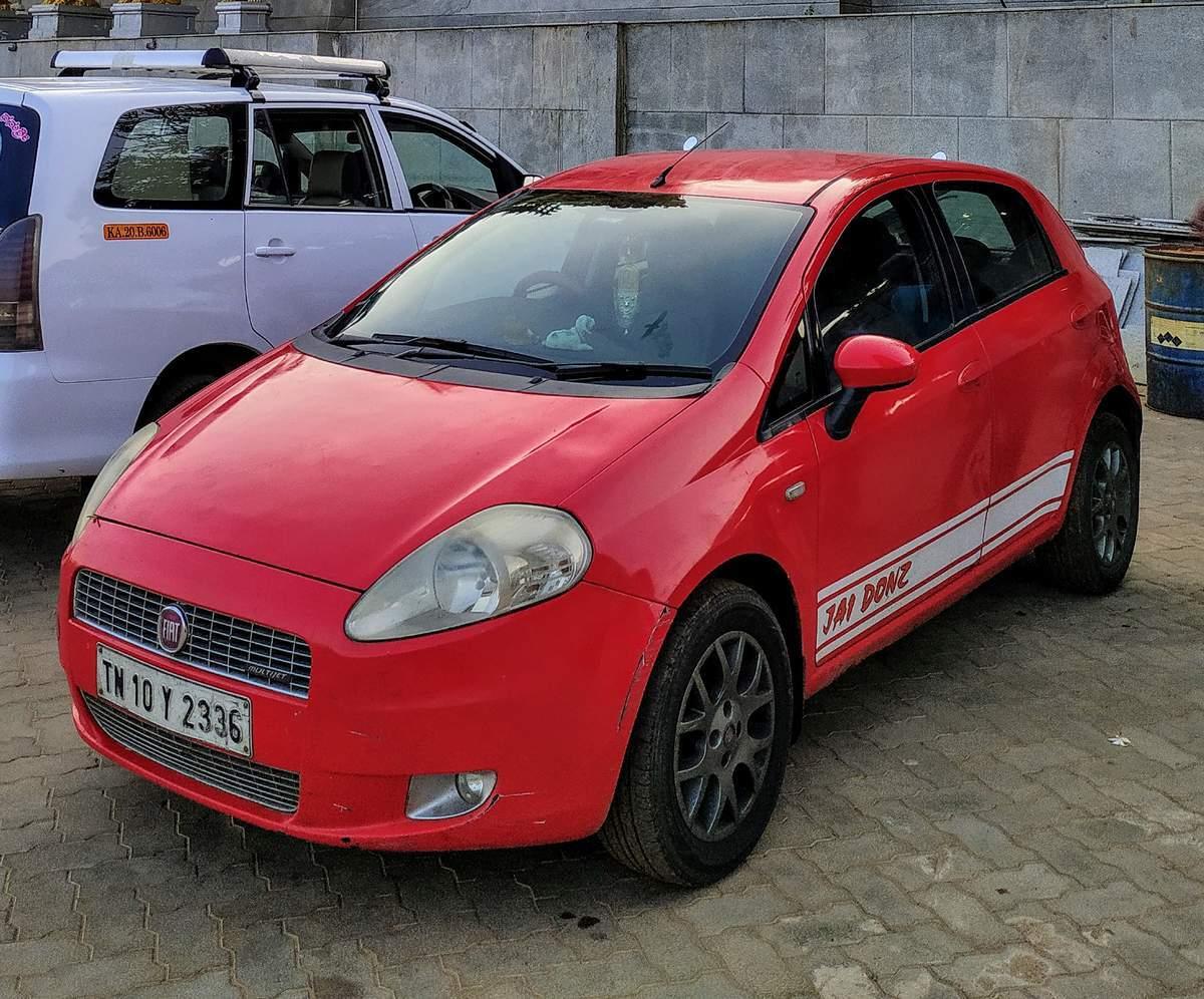 Fiat Grande Punto Front Left Rim
