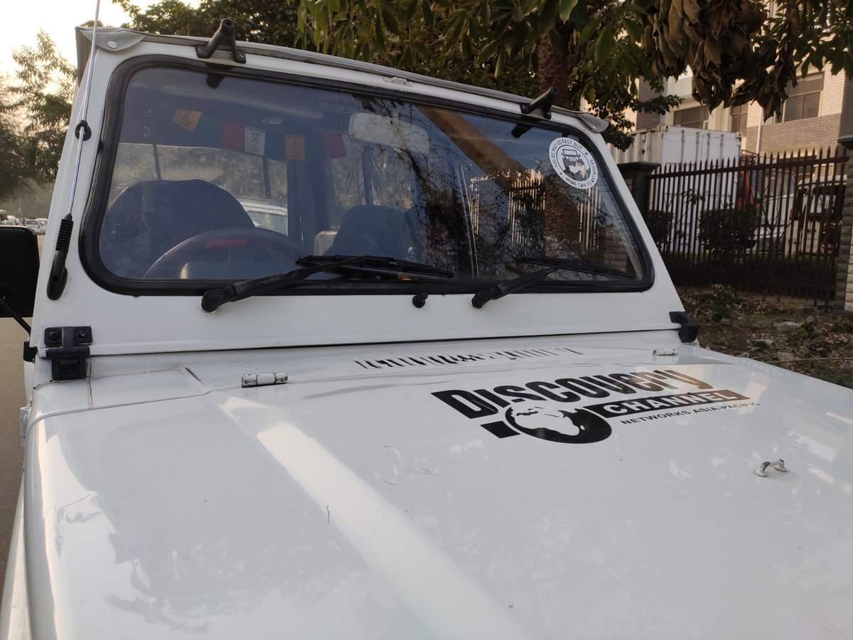 Maruti Suzuki Gypsy Left Side View
