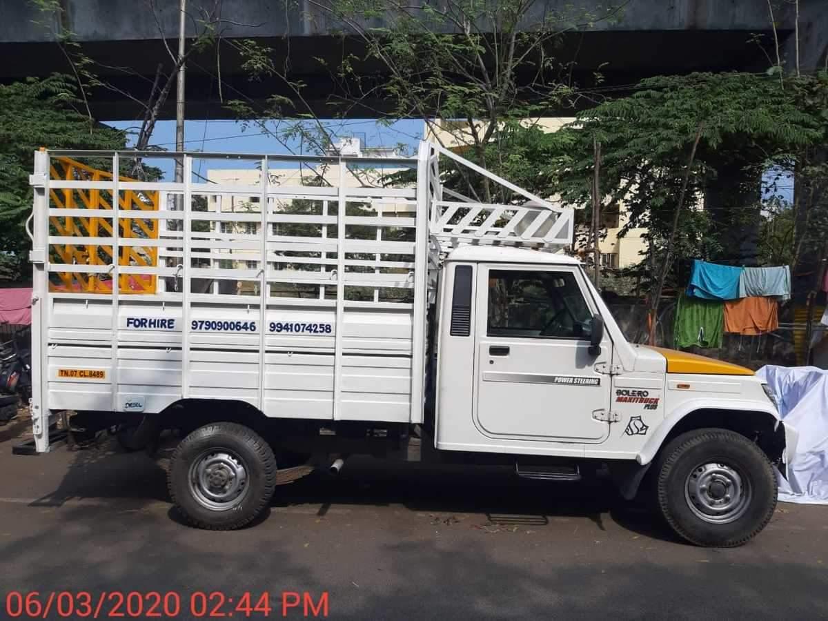 Mahindra Bolero Rear Left Side Angle View
